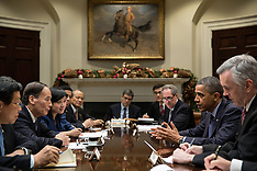 DEC 20 2012 U.S. President Barack Obama meets with Chinese Vice Premier Wang