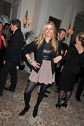 SABINE ROEMER at the launch of Whole World Water at The Savoy Hotel, London on 22nd March 2013.