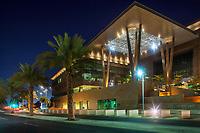 06/Mayo/2013 Arabia Saudi. Jeddah.<br /> Arquitectura nocturna en la Universidad de Ciencia y Tecnología Rey Abdulah, KAUST.<br /> <br /> ©JOAN COSTA