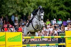 MEYER-ZIMMERMANN Janne-Friederike (GER), Buettner's Minimax<br /> Hamburg - 90. Deutsches Spring- und Dressur Derby 2019<br /> LONGINES GLOBAL CHAMPIONS TOUR Grand Prix of Hamburg<br /> CSI5* Springprüfung mit Stechen <br /> Wertungsprüfung für die LGCT, 6. Etappe<br /> 01. Juni 2019<br /> © www.sportfotos-lafrentz.de/Stefan Lafrentz