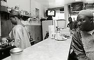 West African restaurant, Harlem.