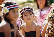 Hula girls, Hawaii