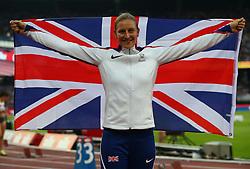 July 14, 2018 - London, United Kingdom - Holly Bradshaw of Great Britain and Northern Ireland winner of the women's pole vault .during Athletics World Cup London 2018 at London Stadium, London, on 14 July 2018  (Credit Image: © Action Foto Sport/NurPhoto via ZUMA Press)