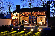 The Tremaine Estate, c.1720, offers a spectacular glass barn/guest house designed by the renowned architect Philip Johnson