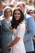 TRURO- UK- 1st Sept 2016: The Duke and Duchess of Cambridge visit Truro Cathedral at the start of a 2 day tour of Cornwall and the Scilly Isles.<br />©Ian Jones/Exclusivepix Media
