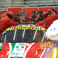 #51, Ferrari 488 GTE, AF Corse, driven by Gianmaria Bruni, James Calado, FIA WEC 6hrs of Spa 2016, 07/05/2016 (after leading his class, he had to retire 3 laps before the end)