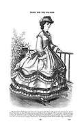 Dress for the Seaside Godey's Lady's Book and Magazine, August, 1864, Volume LXIX, (Volume 69), Philadelphia, Louis A. Godey, Sarah Josepha Hale,