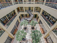 Galleria Atrium interior image in Towson Maryland by Jeffrey Sauers of Commercial Photographics, Architectural Photo Artistry in Washington DC, Virginia to Florida and PA to New England