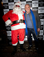 Judge Robert Rinder at the Hard Rock Cafe celebrity-studded Christmas party for children's charity Fight For Life LONDON, 2 December 2019