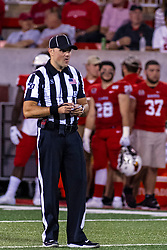 NORMAL, IL - September 07: John Winter during a college football game between the ISU (Illinois State University) Redbirds and the Morehead State Eagles on September 07 2019 at Hancock Stadium in Normal, IL. (Photo by Alan Look)