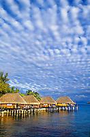Overwater bungalows, Sofitel Marara Resort, Bora Bora, French Polynesia