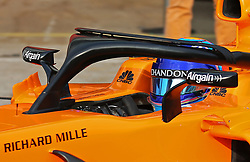 February 26, 2018 - Barcelona, Catalonia, Spain - the McLaren of Fernando Alonso during the tests at the Barcelona-Catalunya Circuit, on 27th February 2018 in Barcelona, Spain. (Credit Image: © Joan Valls/NurPhoto via ZUMA Press)