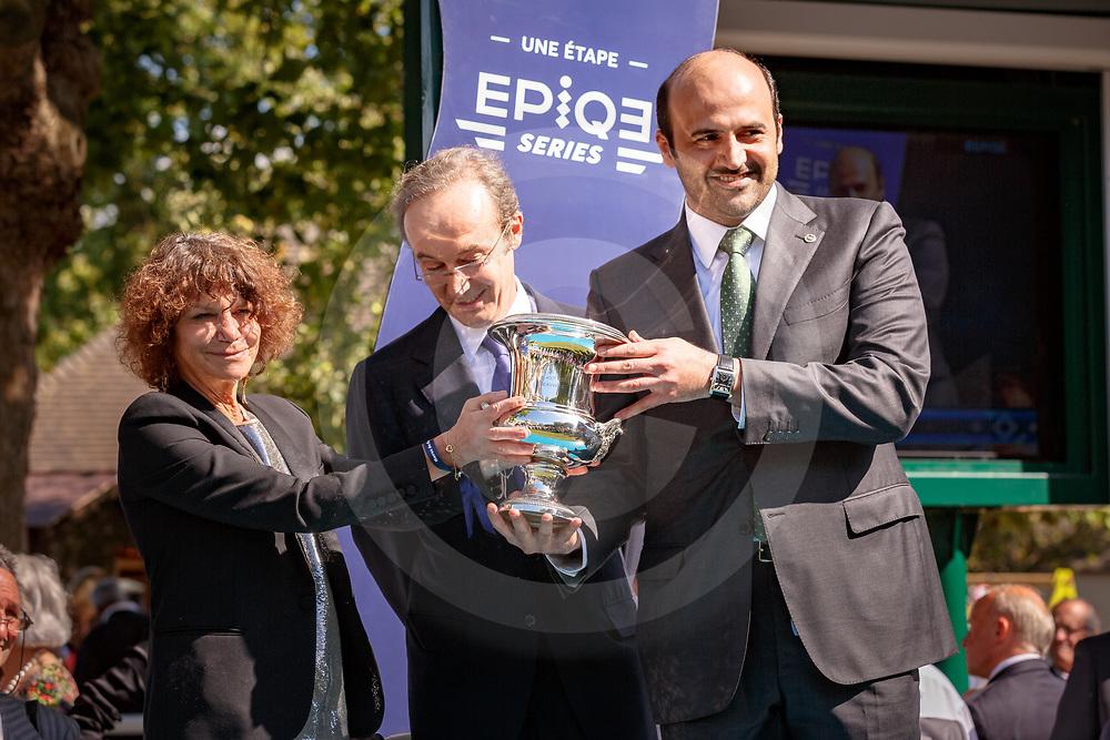 Al Wukair (L. Dettori) wins Prix Du Haras De Fresnay-Le-Buffard Jacques Le Marois Gr.1 in Deauville, France, 13/08/2017, photo: Zuzanna Lupa