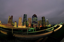 Stock photo of a north western view of the Houston skyline