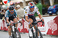 Zdenek Stybar (CZE - QuickStep - Floors) during the 101th Tour of Italy, Giro d'Italia 2018, stage 11, Assisi - Osimo 156 km on May 16, 2018 in Italy - Photo Luca Bettini / BettiniPhoto / ProSportsImages / DPPI