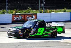 March 23, 2019 - Martinsville, VA, U.S. - MARTINSVILLE, VA - MARCH 23:   #9: Codie Rohrbaugh, CR7 Motorsports, Chevrolet Silverado during qualifying for the NASCAR Gander Outdoors Truck Series TruNorth Global 250 race on March 23, 2019 at the Martinsville Speedway in Martinsville, VA.  (Photo by David J. Griffin/Icon Sportswire) (Credit Image: © David J. Griffin/Icon SMI via ZUMA Press)