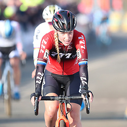 26-01-2020: Wielrennen: Wereldbeker Veldrijden: Hoogerheide <br />Annemarie Worst wint de wereldbeker bij de vrouwen