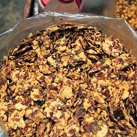 Asia, India, Roadside snack mix of the Himalayan region of Darjeeling.