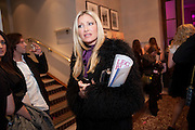 CAPRICE BOURRET, Savoy Theatre's Legally Blonde- The Musical,  Gala night. After-party at the Waldorf Hilton. London. 13 January 2010.