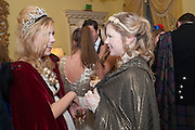 LAURIE MCALLISTER; PENNY DALE, Tatler magazine Jubilee party with Thomas Pink. The Ritz, Piccadilly. London. 2 May 2012
