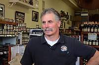 Mike Arcangeli, Arcangeli Grocery Company, trading as Norm's Market, Pescadero, California, USA. 201305012247<br /> <br /> Copyright Image from Victor Patterson, 54 Dorchester Park, Belfast, UK, BT9 6RJ<br /> <br /> Tel: +44 28 9066 1296<br /> Mob: +44 7802 353836<br /> Voicemail +44 20 8816 7153<br /> Skype: victorpattersonbelfast<br /> Email: victorpatterson@me.com<br /> Email: victorpatterson@ireland.com (back-up)<br /> <br /> IMPORTANT: If you wish to use this image or any other of my images please go to www.victorpatterson.com and click on the Terms & Conditions. Then contact me by email or phone with the reference number(s) of the image(s) concerned.