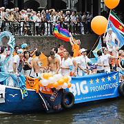NLD/Amsterdam/20080802 - Canal Parade 2008 Amsterdam, Arubaanse boot