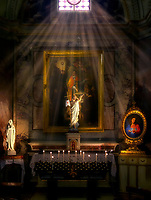 """The Glow of the New Church of St. Francis of Assisi""… <br />