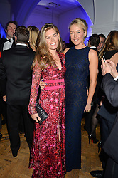 Left to right, SOPHIE STANBURY and LADY ALEXANDRA SPENCER-CHURCHILL at the Sugarplum Dinner in aid Sugarplum Children a charity supporting children with type 1 diabetes and raising funds for JDRF, the world's leading type 1 diabetes research charity held at One Marylebone, London on 18th November 2015.