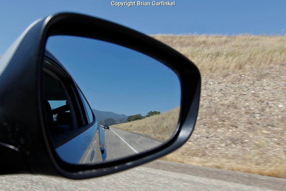 Driving through the Mountains of Santa Barbara County on Monday, May 10th, 2011.