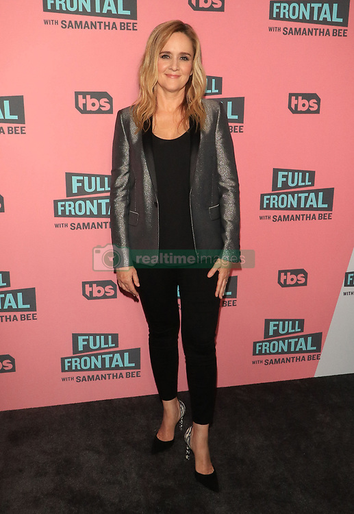"""Samantha Bee at the TBS Television Network For Your Consideration Event for """"Full Frontal With Samantha Bee"""" held at the Writers Guild Theater in Beverly Hills."""