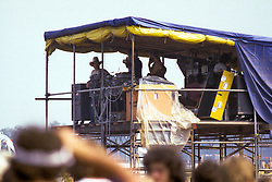 Scenes of the Marshall Tucker Sound Crew at the Labor Day Weekend Grateful Dead Concert, Englishtown NJ, 3 September 1977.