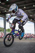 #77 (SAKAKIBARA Kai) AUS at Round 6 of the 2019 UCI BMX Supercross World Cup in Saint-Quentin-En-Yvelines, France