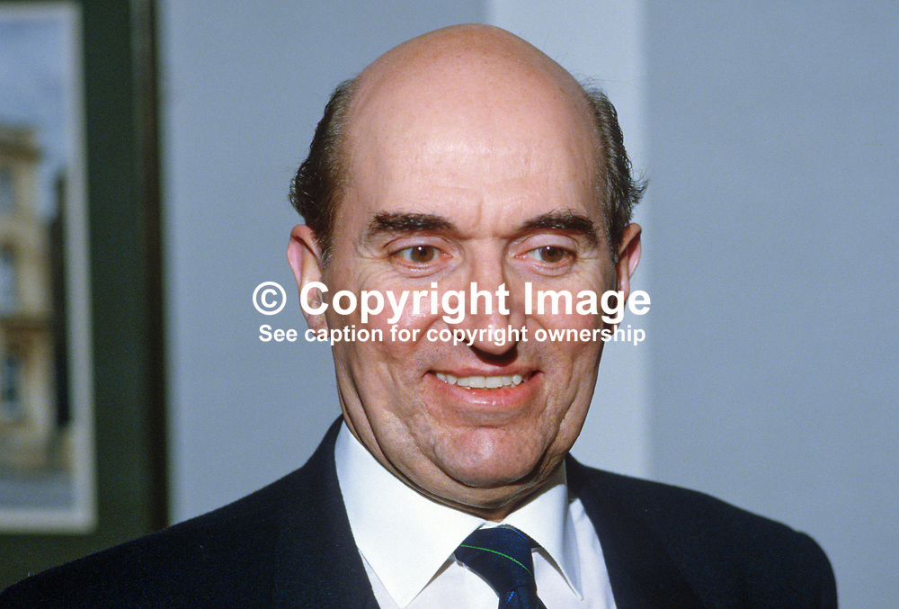 Victor Chambers, chief executive, Ulster Bank, N Ireland, UK, 19850023VC.<br /> <br /> Copyright Image from Victor Patterson, Belfast, UK<br /> <br /> t: +44 28 9066 1296 (from Rep of Ireland 048 9066 1296)<br /> m: +44 7802 353836<br /> e: victorpattersonbelfast@gmail.com<br /> <br /> www.images4media.com<br /> <br /> Please see my full Terms and Conditions of Use at https://www.images4media.com/p/terms-conditions - it is IMPORTANT that you familiarise yourself with them.<br /> <br /> Images used online incur an additional cost. This cost should be agreed in writing in advance. Online images must be visibly watermarked i.e. © Victor Patterson or that of the named photographer within the body of the image. The original metadata must not be deleted from images used online.<br /> <br /> This image is only available for the use of the download recipient i.e. television station, newspaper, magazine, book publisher, etc, and must not be passed on to a third party. It is also downloaded on condition that each and every usage is notified within 7 days to victorpattersonbelfast@gmail.com.<br /> <br /> The right of Victor Patterson (or the named photographer) to be identified as the author is asserted in accordance with The Copyright Designs And Patents Act (1988). All moral rights are asserted.