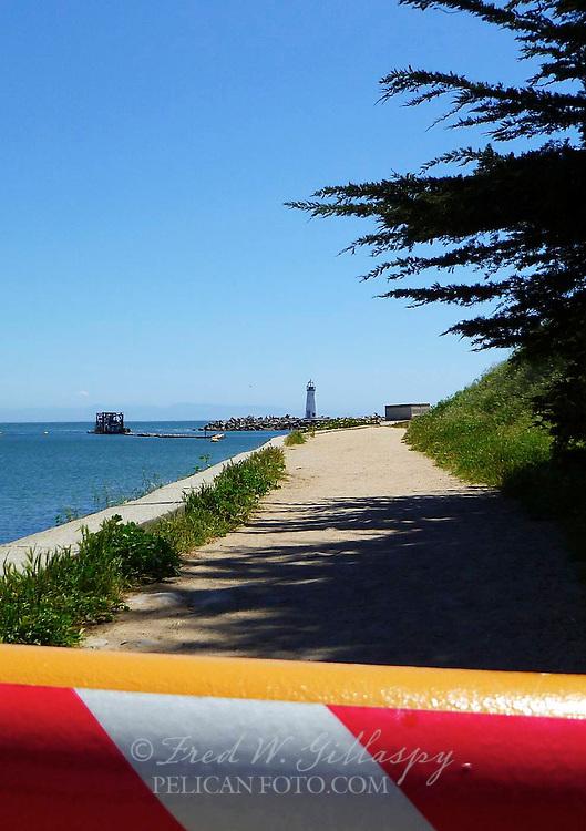 Santa Cruz Harbor ~ Walton Lighthouse ~ 0305