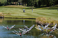 Ajeetesh Sandhu (IND) In action on the 6th hole Hills Course during the second round of the New Zealand Open 2020, Millbrook Resort, Queenstown, New Zealand. 27/02/2020<br /> Picture: Golffile | Phil Inglis<br /> <br /> <br /> All photo usage must carry mandatory copyright credit (© Golffile | Phil Inglis)