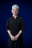 Acclaimed bestselling British children's author Jacqueline Wilson, pictured at the Edinburgh International Book Festival where she talked about her latest work. The three-week event is the world's biggest literary festival and is held during the annual Edinburgh Festival. The 2012 event featured talks and presentations by more than 500 authors from around the world.