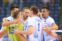 Slovenian Team during the European Championship game Russia - Slovenia on August 26, 2017 in Krakow, Poland. (Photo by Krzysztof Porebski / Press Focus)