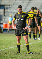 May 26, 2018 - Houston, TX, U.S. - HOUSTON, TX - MAY 26:  Houston SaberCats flyhalf Sam Windsor (10) waits for play to begin during the Major League Rugby match between the Utah Warriors and Houston SaberCats on May 26, 2018 at Dyer Stadium in Houston, Texas.  (Photo by Leslie Plaza Johnson/Icon Sportswire) (Credit Image: © Leslie Plaza Johnson/Icon SMI via ZUMA Press)