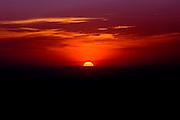 Oliveira_MG, Brasil...Aereas de por sol em Oliveira...Aerial view of the sunset in Oliveira...Foto: BRUNO MAGALHAES / NITRO