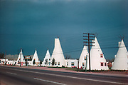 CS00305-02. Wigwam Lodge, located on the old Mesa highway at 634 Apache Blvd, Tempe Arizona. (now demolished)