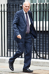 © Licensed to London News Pictures. 03/06/2014. LONDON, UK. Business Secretary, Vince Cable attending to a cabinet meeting in Downing Street on Tuesday, 3 June 2014. Photo credit: Tolga Akmen/LNP