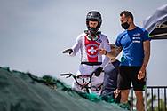 2021 UCI BMXSX World Cup 1&2<br /> Verona (Italy) - Friday Practice<br /> ^me#7 GRAF, David (SUI, ME) Team_CH, Prophecy<br /> Manuel De Vecchi (ITA)