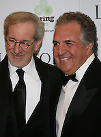 Jim Giamopulos and Steven Spielberg at the Lincoln film premiere Savoy Cinema in Dublin, Ireland. Sunday 20th January 2013.