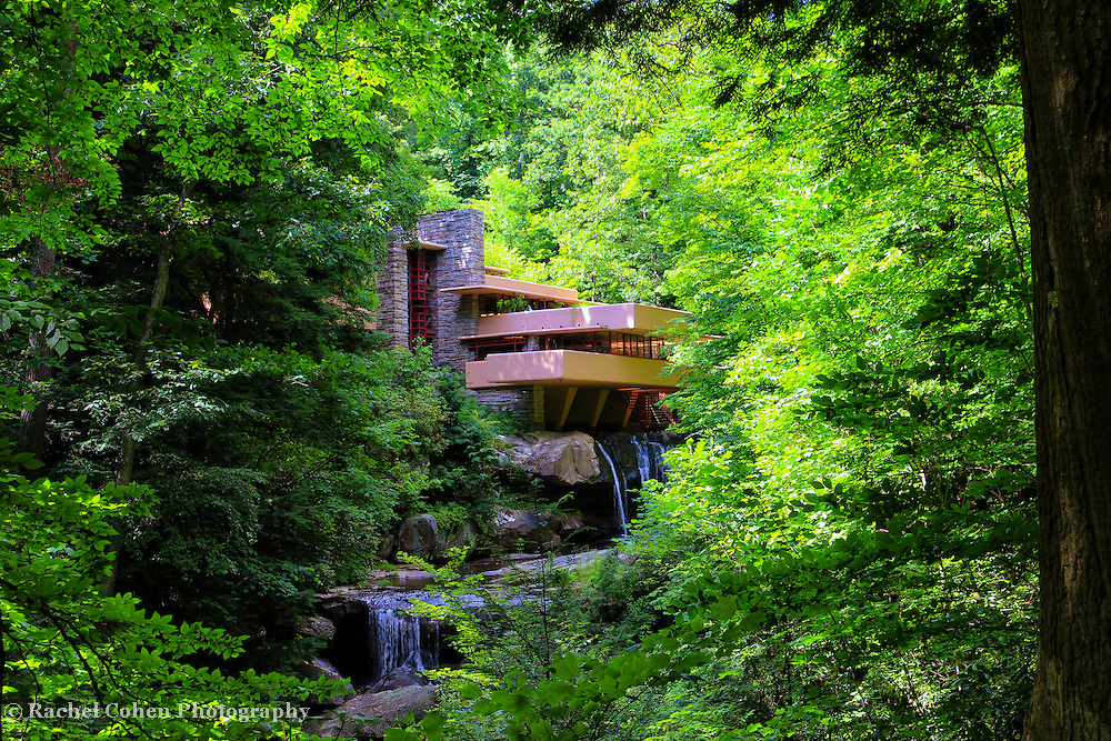 """""""Shadows of Brilliance""""<br /> <br /> Lovely and dreamy Fallingwater near Ohiopyle Pa."""