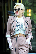 June 25, 2015 - New York, NY, USA -<br /> Lady Gaga leaving her apartment on June 25, 2015 in New York City.<br /> ©Exclusivepix Media