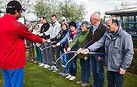 DELFT - GOLFBAAN DELFLAND, Pay and Play,  , kennismaken met golf tijdens Open Golfdag,  met professional  Azaad Rameswar. COPYRIGHT KOEN SUYK