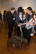 DOGS: BERIE; BEAR; VANESSA BUSTAMANTE; LUNA DE CASANOVA, VANESSA BUSTAMANTE, RECEPTION AND DINNER after at Cipriani downtown. . ANH DUONG CAN YOU SEE ME. Wayne Maser & Glenn O'Brien feat. LAPO ELKANN: The Italian.ROBILANT AND VOENA. Dover st.  6 FEB 6-9pm