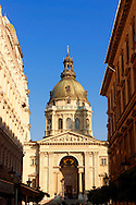 St Stephen's Basilica, ( Szent Istvan Bazilika ) , Neo Classical building, Budapest, Hungary .<br /> <br /> Visit our HUNGARY HISTORIC PLACES PHOTO COLLECTIONS for more photos to download or buy as wall art prints https://funkystock.photoshelter.com/gallery-collection/Pictures-Images-of-Hungary-Photos-of-Hungarian-Historic-Landmark-Sites/C0000Te8AnPgxjRg