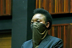 South Africa – Johannesburg – Blue Light fraud case – 12 October 2020. Deputy National Commissioner Bonang Christina Mgwenya appears at the Commersial Crimes court sitting at Palm Ridge court on Monday morning. She is joined into a case with National Commissioner Kgomotso Phalane relating to charges of fraud corruption and money laundering with regards to the rewarding of a multimillion rand tender (R191 mil)  in 2017 to supply police warning systems ie; blue lights. Mgwenya, recorded as 13th accused,  was granted bail at R20 000. (General Cedric Sibiya who was at court is said to have paid her bail bond). Her defence Adv. Zirk Pansegrouw. Next appearance – 16 November 2020 court 9. Picture: Timothy Bernard/African News Agency