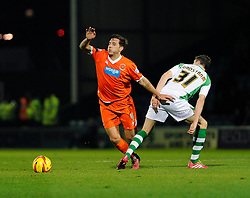 - Photo mandatory by-line: Dougie Allward/JMP - Tel: Mobile: 07966 386802 03/12/2013 - SPORT - Football - Yeovil - Huish Park - Yeovil Town v Blackpool - Sky Bet Championship